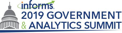 INFORMS 2019 Government & Analytics Summit